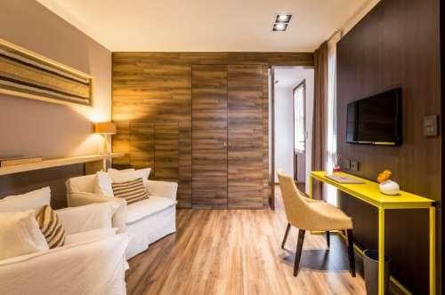 Living privado en habitacion